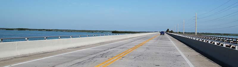 En bro i Florida Keys
